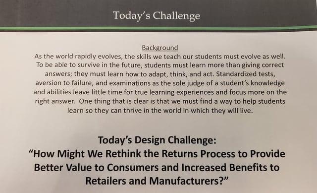 Design Thinking Prompt RVCF