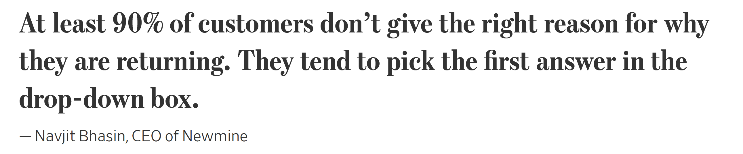 Quote from WSJ article